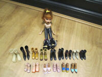 BRATZ DOLL / SHOES/BOOTS / BARBIE CLOTHES / BARBIE DOLL AND HORSE / MONSTER HIGH STANDS, ETC.