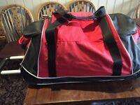 Samsonite soft sided wheeled travel bag