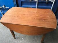 Drop leaf dining table with FREE DELIVERY PLYMOUTH AREA