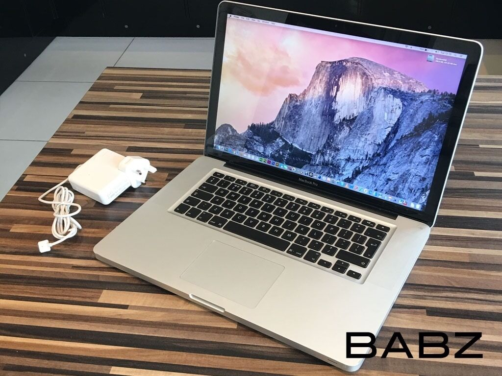 Apple Macbook Pro Intel i5 2.4Ghz - 320GB HD/4GB Ram - Adobe CS6/Final Cut/Logic Pro X