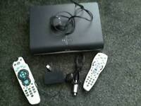 SKY PLUS HD BOX WITH ACCESSORIES