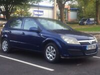 VAUXHALL ASTRA 1.4 CLUB 2006 (55 REG)**£999**LONG MOT*SERVICE HISTORY*BLUE*PX WELCOME*DELIVERY