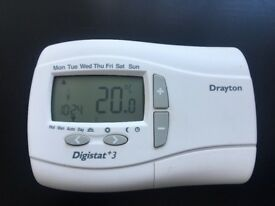 Further Price Reduction!; Drayton Digistat 7 Day Programmable Wired Room Thermostat