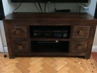 Solid wood tv stand / unit