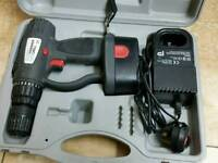 Cordless hammer drill 18v with charger &case