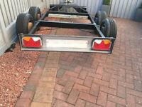 Refurbished/ brand new Braked double axel Trailer