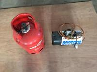 Garage Blow Heater & Gas Cylinder