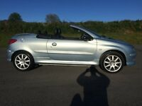 2004 Peugeot 206 CC cheap convertible ready for summer