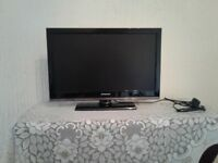 TV 22inch with built-in DVD form Polaroid as new condition! O.N.O