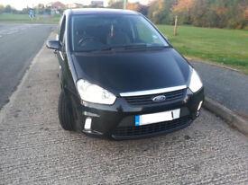 Ford C max car mpv 1.8tdci zetec black 5dr new mot new tyres lots of receipts