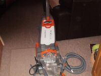 Vax Rapide Ultra Carpet washer with upholstery tools
