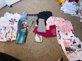 Newborn upwards girls clothing