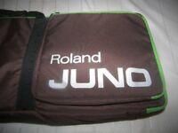 Roland Juno 61 , Original Gig Bag / Juno D , Juno Di , Juno DS , Roland FA06 and other.