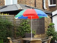 Large Garden Umbrella Acton W3