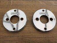 "Vintage Gretsch ""Fish Eye"" Tom Mounting Plate x 2"