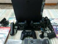 PS3 slim and lot's of accessories