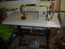 WALKING FOOT INDUSTRIAL HIGHLEAD SEWING MACHINE( Ideal for leather, upholstery,