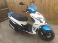 Sym jet 4 125cc 2013 scooter moped 12 months mot