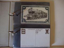 Locomotive Anniversary Celebration Postcard Collection.