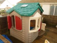 little tykes mansion play house