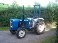 Ford 1900 4WD Tractor