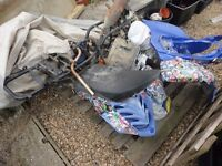 Quad Bike Spares or Repair Complete stripped down to repair bushes but left on pallet