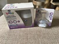 Brand New Boots 150ml Extra Wide Feeding Baby Bottles Plus 2 Extra Teats