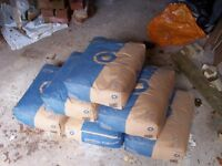 6 x 25kg bags of CEMENT