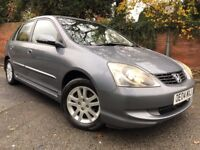 IMMACULATE Condition Honda Civic Executive 5DR 1.6cc Leather 2004 FSH