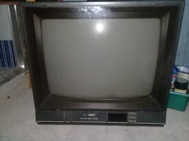 Single Headboard and working TV