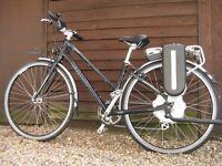 Giant Escape Hybrid Electric Bike 2WS