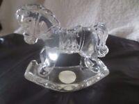 24% Led Crystal Rocking Horse