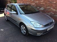 2005 FORD FOCUS 1.6 EDGE, ONLY 54000 MILES, TWO OWNERS, FULL SERVICE HISTORY, 11 MONTHS MOT.