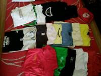 Mens bundle 51x items, tshirt, jacket, shirts, jeans, xl & xxl and more
