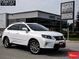 2015 Lexus RX 350 Sportdesign AWD~New Frt & Rear Pads & Rotors~