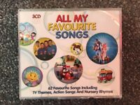 All My Favourite Songs - Children's Compilation 3 CDs