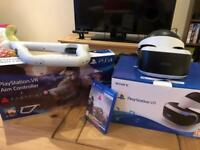 Playstation VR with Aim Controller and Farpoint