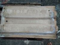 350 Redland 49 roofing tiles used in good condition. Free to collect and take away