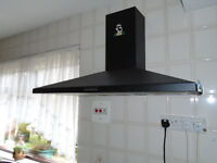 Black Extractor hood, rarely used
