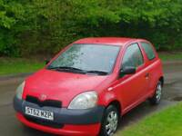 TOYOTA YARIS 1.0L T3 2002 MOT TILL12/5/2019 15 SERVICES HPI CLEAR EXCELLENT CONDITION