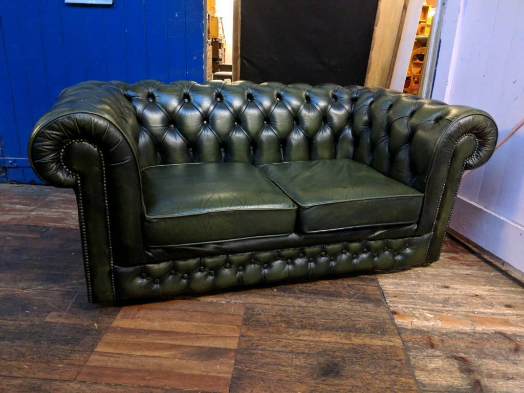 Dark Green Thomas Lloyd Chesterfield Sofa In Barwell Leicestershire Gumtree
