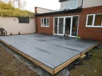 Warwickshire Composite Decking Services. Decking Specialists plus All home and garden maintenance