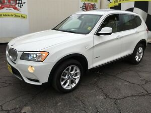 2013 BMW X3 28i, Automatic, Leather, Panoramic Sunroof AWD