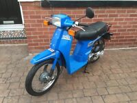 Honda SH50 E City Express 50cc Moped Scooter Immaculate, blue, 12 months MOT Retro collectable
