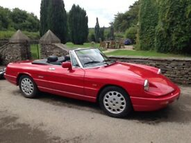 Alfa Spider for sale.