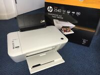 HP 2540 Printer 3 in1 (Print, Scan, Copy) with free A4 paper