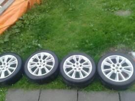 Vauxhall Astra Mk5 alloys 5 Stud
