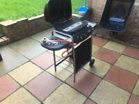 Out door bbq gas grill new 2 barnar