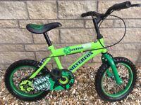 "Children's 14"" Silverfox Scuffle Bike"