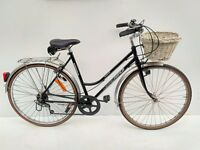 Micmo Rebeca ladies town bicycle with basket